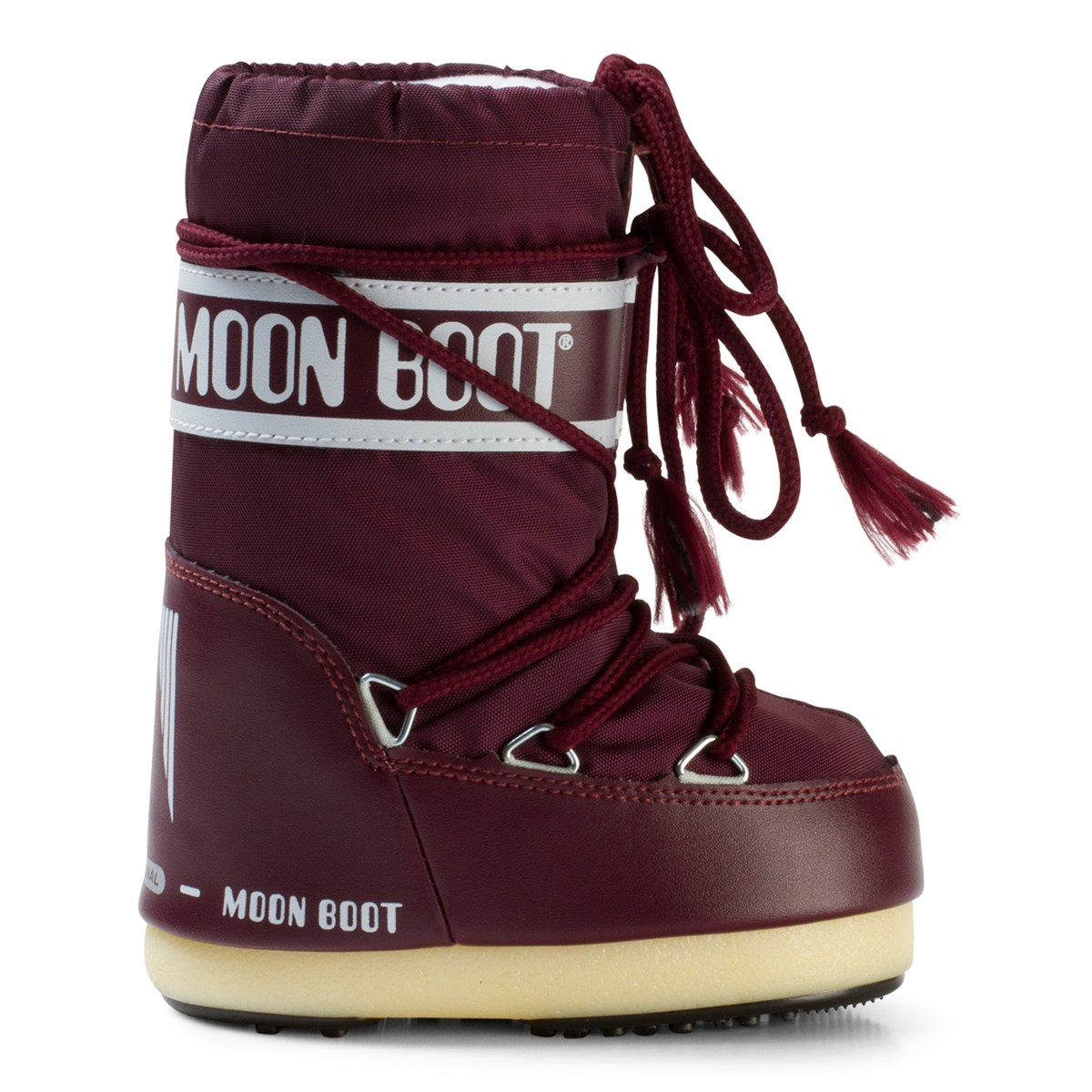 moon boot moon boots nylon burgundy. Black Bedroom Furniture Sets. Home Design Ideas