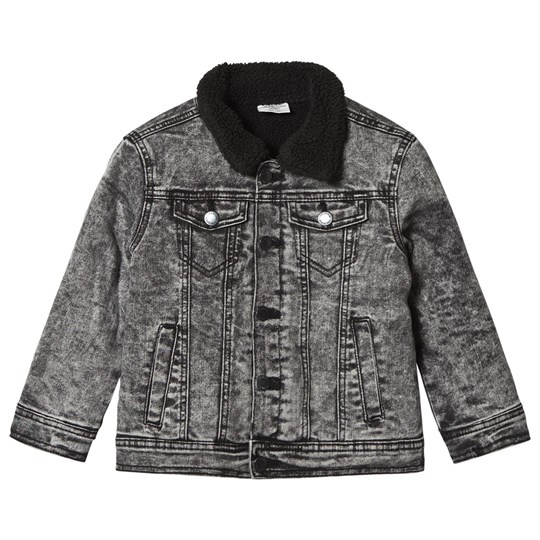 I Dig Denim Orlando Denim Jacket Black Black