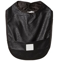 The Tiny Universe Food Bib/Snake Skin Black Black