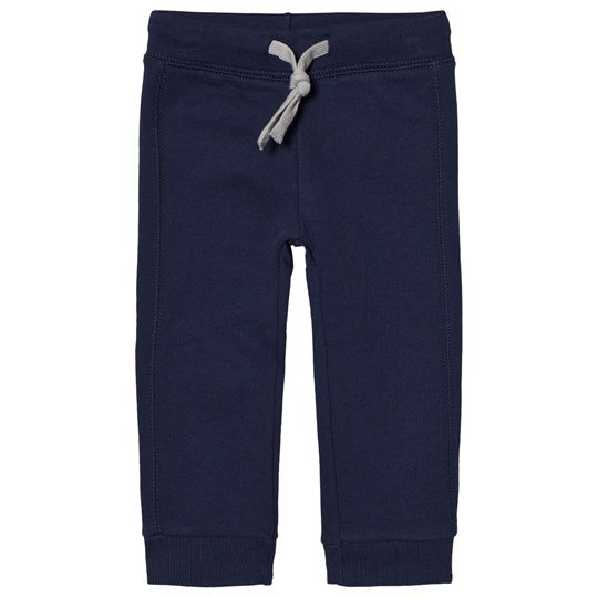 United Colors of Benetton Jersey Jogger With Logo Pocket  Navy Navy