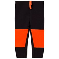 United Colors of Benetton Colour Block Jogger With Knee Patches Detail Black Black