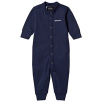 Didriksons Morris Baby Jumpsuit Navy Navy