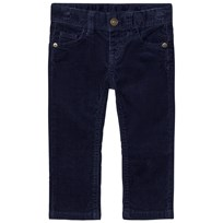 United Colors of Benetton Stretch Cord Trouser Navy Navy