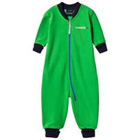 Didriksons Fleece Coverall Jassa Fuchsia Green