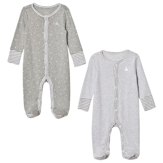 Gap 2-Pack Favorite Bear Sparkdräkt Light Grey Heather Light Heather Grey B10