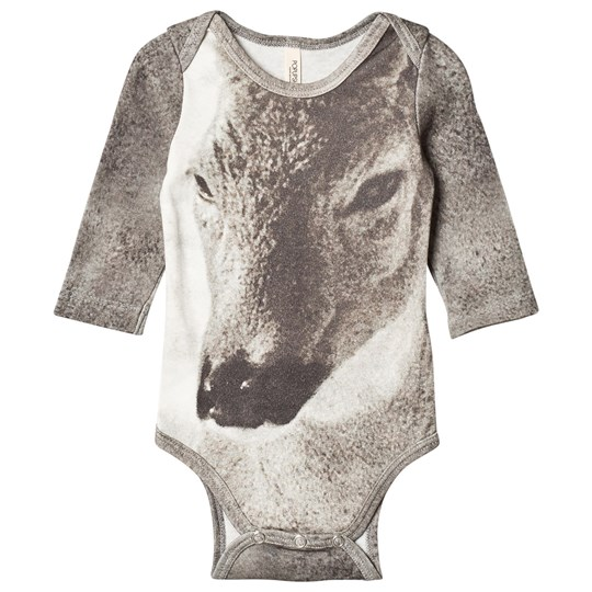 Popupshop Fawn Baby Body Fawn AOP