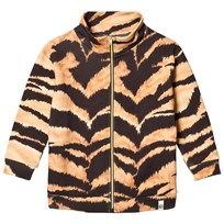 Popupshop Lecce Sweat Brown Tiger AOP Tiger AOP