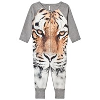 Popupshop One Piece Brown Tiger AOP Tiger AOP