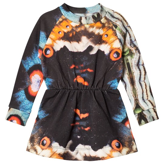 Popupshop Butterfly Robbie Dress Butterfly AOP