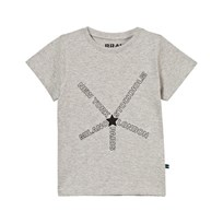The BRAND City Tee Grey Melange Black