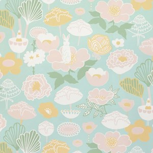 Image of Majvillan Little Light Wallpaper Turquoise (3001923949)