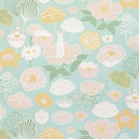 Majvillan Little Light Wallpaper Turquoise turq