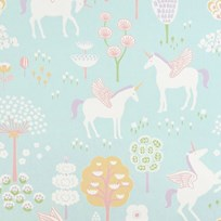 Majvillan True Unicorn Wallpaper Turquoise turq