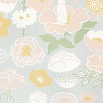 Majvillan Little Light Wallpaper Grey Musta