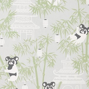 Image of Majvillan Bambu Wallpaper Grey (2901092935)
