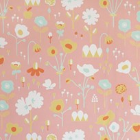 Majvillan Bloom Wallpaper Pink Pink