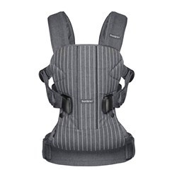 Babybjörn Baby Carrier One Pinstripe/Grey