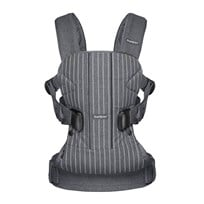 Babybjörn Baby Carrier One Pinstripe/Grey Sort