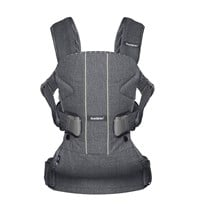 Babybjörn Baby Carrier One Grey/Pinstripe Black