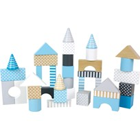 Jabadabado Building Blocks Blue Light Blue
