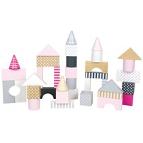 Jabadabado Building Blocks Pink Light Pink