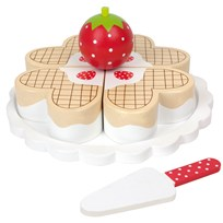 Jabadabado Playing food, Waffle Cake Multi