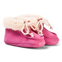 United Colors of Benetton Suede Booties Pink Pink