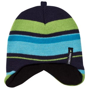Image of Isbjörn Of Sweden Eaglet Knitted Cap Seagrass 40/42 cm (2780660315)