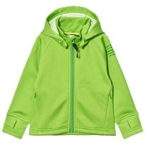 Isbjörn Of Sweden PANDA Fleece Hoodie Lemongrass Green