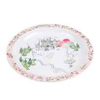 Livly Princess Land Pink Dinner Plate princess land pink