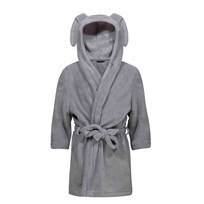 Kuling Rabbit Robe Grey Black