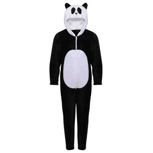Image of Kuling Panda Jumpsuit Black 86/92 cm (2863655793)