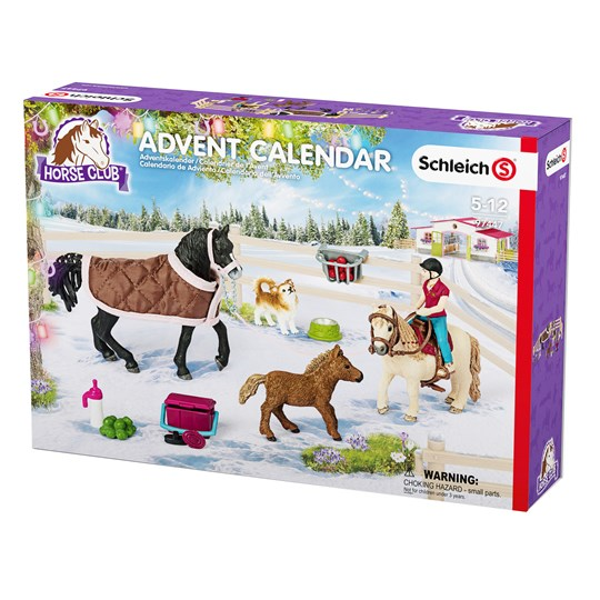 Schleich Adventskalender, Horse Club Multi