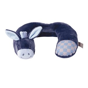 Image of Nattou Neck Pillow Alex & Bibou Donkey One Size (985118)