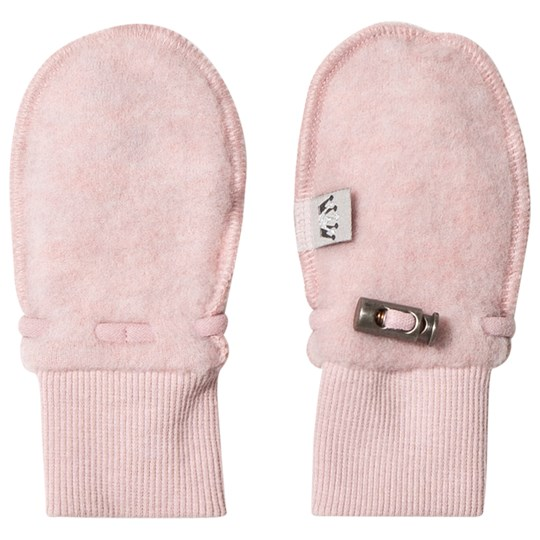Hust&Claire Wool Mittens Dusty Rose Dusty Rose