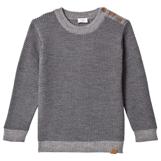 Hust&Claire Sweater Anthracite Antracite Melange