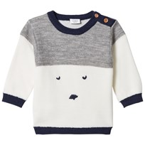 Hust&Claire Knitted Sweater Birch Birch