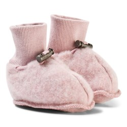 Hust&Claire Wool Slippers Dusty Rose