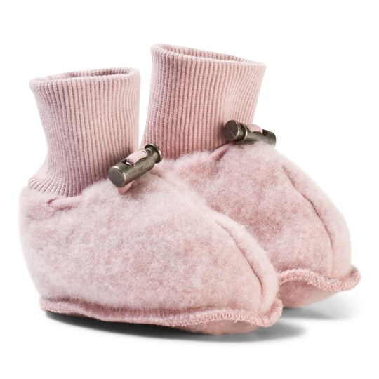 Hust&Claire Wool Slippers Dusty Rose Dusty Rose
