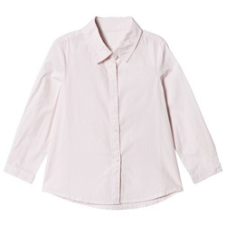 United Colors of Benetton Oversized Stripe Shirt Pink