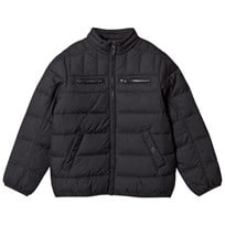 United Colors of Benetton Bomber Style Padded Jacket Black Black
