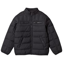 United Colors of Benetton Bomber Jacket Style Padded Jacket Black Black