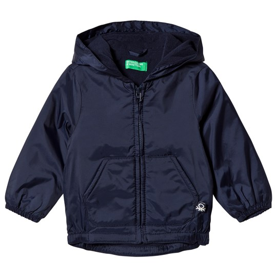 United Colors of Benetton Rain Defender Windbreaker Jacket Navy Navy