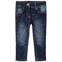 United Colors of Benetton Stretch Skinny Fit Washed Denim Trouser Blue Blue