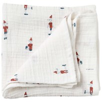 garbo&friends Pinocchio Muslin Swaddle Blanket Multi