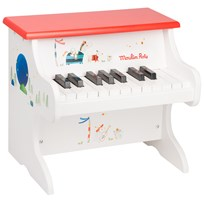 Moulin Roty Piano Vit White