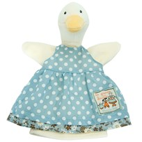 Moulin Roty Jeanne the Duck Hand Puppet Green
