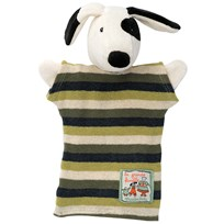 Moulin Roty Julius the Dog Hand Puppet Black