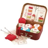 Moulin Roty Red Sewing Kit Red