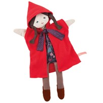 Moulin Roty Red Riding Hood Hand Puppet Red